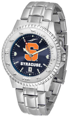 Mens Syracuse Orange - Competitor Steel AnoChrome Watch