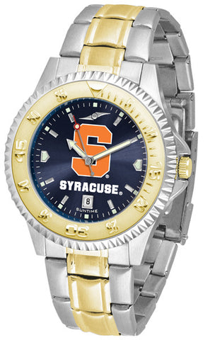 Mens Syracuse Orange - Competitor Two Tone AnoChrome Watch