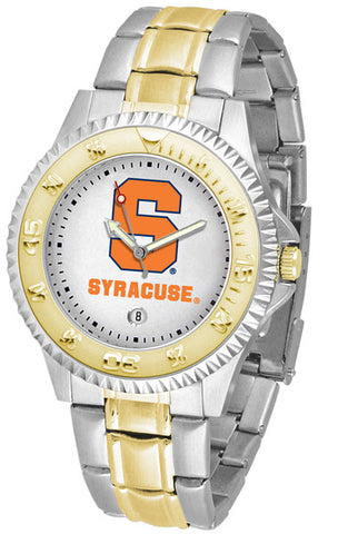Mens Syracuse Orange - Competitor Two Tone Watch