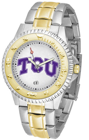 Texas Christian Horned Frogs Men's Competitor Two-Tone Watch