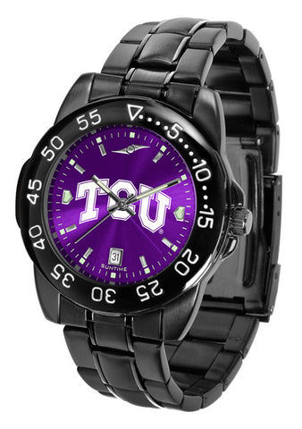 Texas Christian Horned Frogs Fantom Sport Men Watch With AnoChrome Dial
