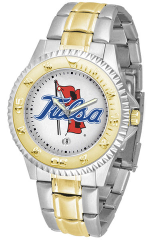 Mens Tulsa Golden Hurricane - Competitor Two Tone Watch