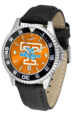 Tennessee Lady Volunteers Men Competitor Watch With AnoChome Dial, Color Bezel