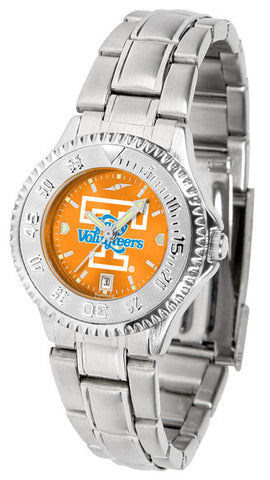 Tennessee Lady Volunteers Ladies Competitor Steel Watch With AnoChome Dial