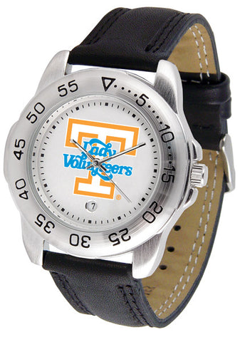 Tennessee Lady Volunteers Men Sport Watch With Leather Band