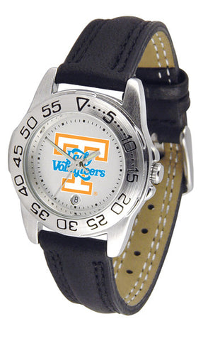 Tennessee Lady Volunteers Ladies Sport Watch With Leather Band
