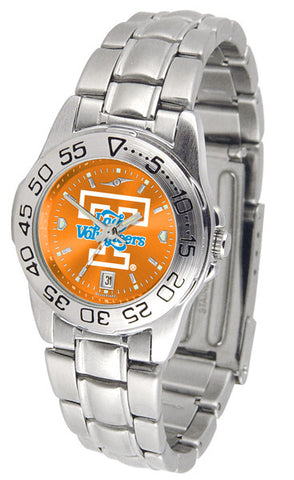 Tennessee Lady Volunteers Ladies Sport Steel Watch With AnoChrome Dial