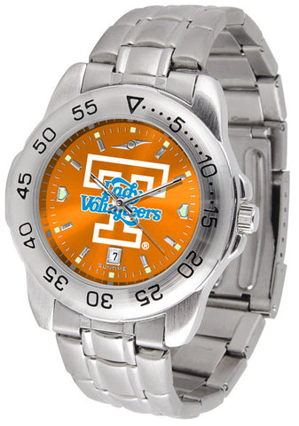 Tennessee Lady Volunteers Men Sport Steel Watch With AnoChrome Dial