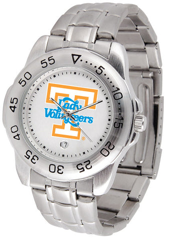Tennessee Lady Volunteers Men Sport Steel Watch