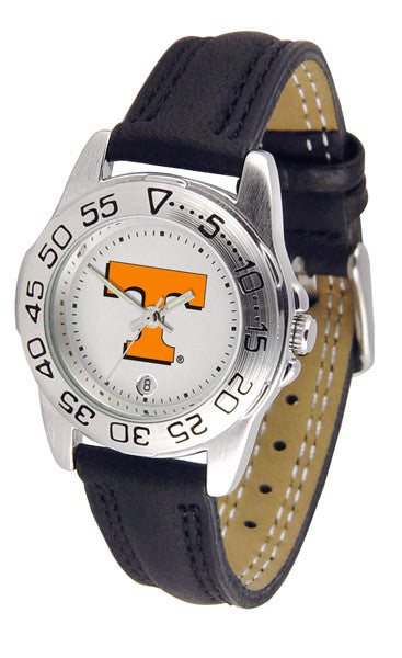 Tennessee Volunteers Ladies Sport Watch With Leather Band