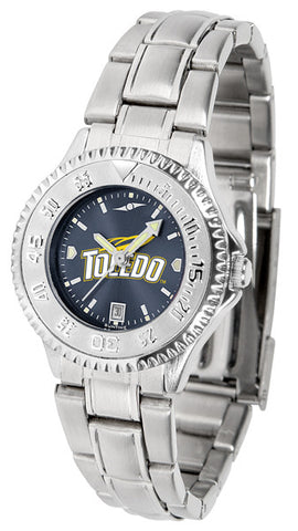 Ladies Toledo Rockets - Competitor Steel AnoChrome Watch