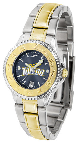 Ladies Toledo Rockets - Competitor Two Tone AnoChrome Watch