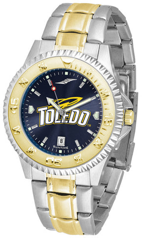 Mens Toledo Rockets - Competitor Two Tone AnoChrome Watch