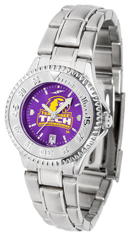 Ladies Tennessee Tech Eagles - Competitor Steel AnoChrome Watch