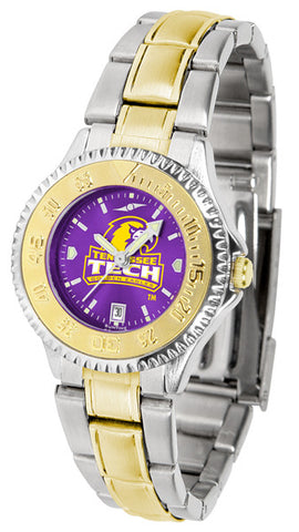 Ladies Tennessee Tech Eagles - Competitor Two Tone AnoChrome Watch