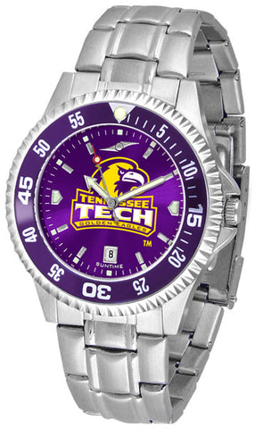Mens Tennessee Tech Eagles - Competitor Steel AnoChrome Watch - Color Bezel