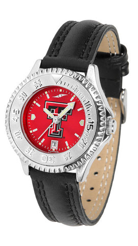 Texas Tech Red Raiders Ladies Competitor Watch With AnoChome Dial