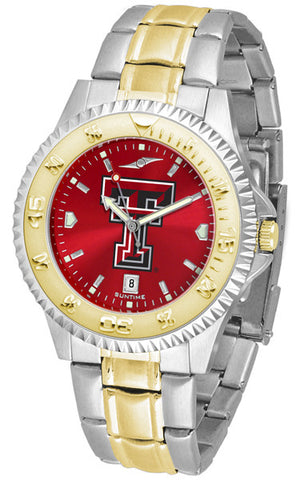 Texas Tech Red Raiders Ladies Competitor Two-Tone Watch