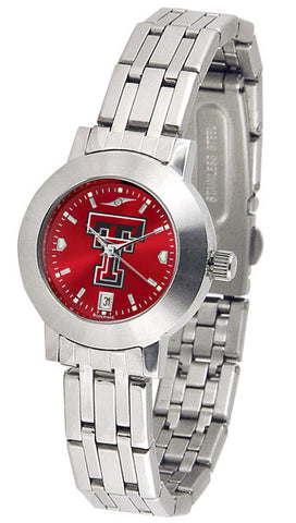 Texas Tech Red Raiders Ladies Dynasty Watch With AnoChrome Dial
