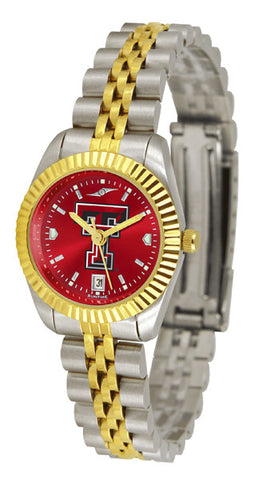 Texas Tech Red Raiders Ladies Executive Watch With AnoChrome Dial