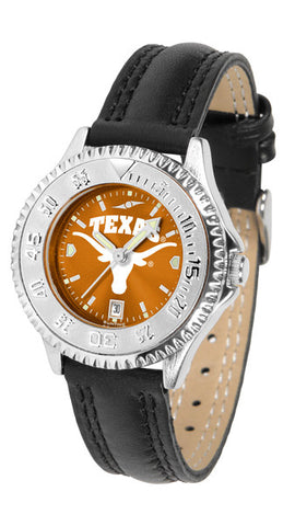 Texas Longhorns Ladies Competitor Watch With AnoChome Dial