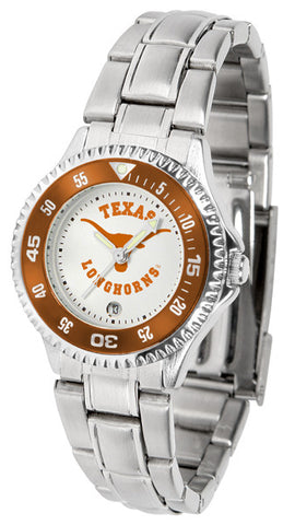 Texas Longhorns Competitor Steel Ladies Watch