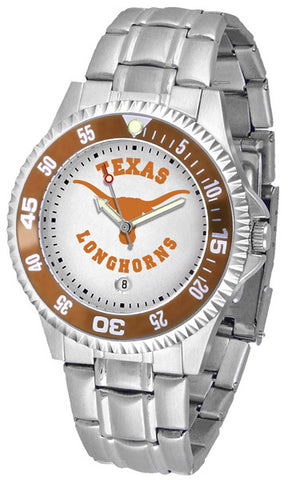 Texas Longhorns Competitor Steel Men's Watch