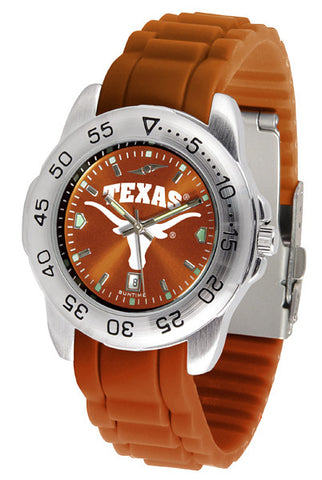 Texas Longhorns Sport AnoChrome Watch With Color Band