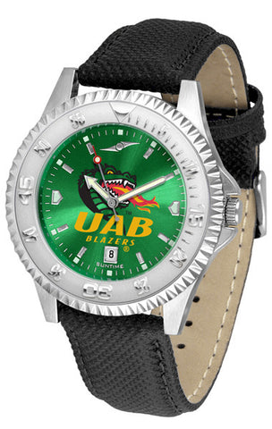 Alabama - UAB Blazers Men  Competitor Watch With AnoChome Dial