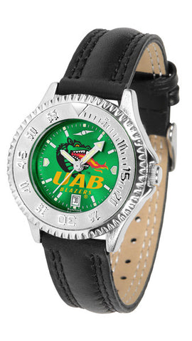 Alabama - UAB Blazers Ladies Competitor Watch With AnoChome Dial