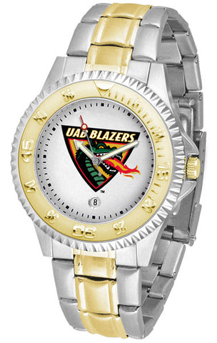 Alabama - UAB Blazers Men's Competitor Two-Tone Watch