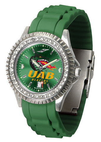 Alabama - UAB Blazers Sparkle Watch With Color Band