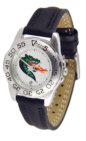 Alabama - UAB Blazers Ladies Sport Watch With Leather Band