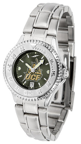 Central Florida Knights Ladies Competitor Steel Watch With AnoChome Dial