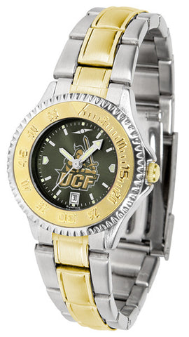 Central Florida Knights Ladies Competitor Two-Tone Watch With Anochrome Dial