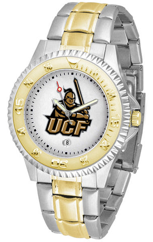 Central Florida Knights Men's Competitor Two-Tone Watch