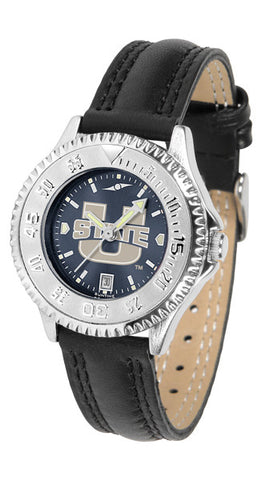 Ladies Utah State University Aggies - Competitor AnoChrome Watch