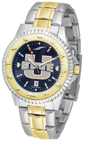 Mens Utah State University Aggies - Competitor Two Tone AnoChrome Watch