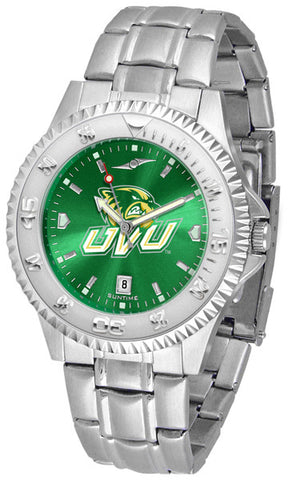 Mens Utah Valley Wolverines - Competitor Steel AnoChrome Watch