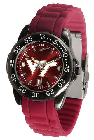 Virginia Tech Hokies Fantom Sport AC Watch With Color Band