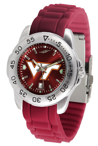 Virginia Tech Hokies Sport AnoChrome Watch With Color Band