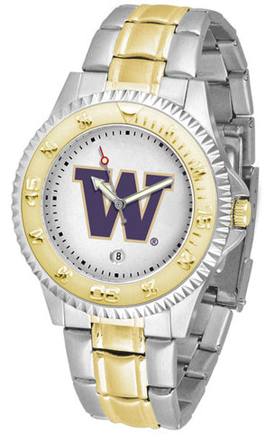 Mens Washington Huskies - Competitor Two Tone Watch