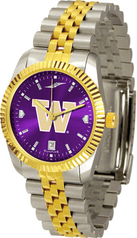 Mens Washington Huskies - Executive AnoChrome Watch