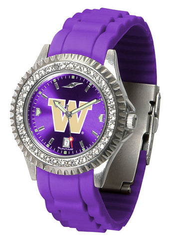 Ladies Washington Huskies - Sparkle Watch