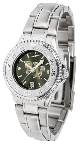Ladies Wake Forest Demon Deacons - Competitor Steel AnoChrome Watch