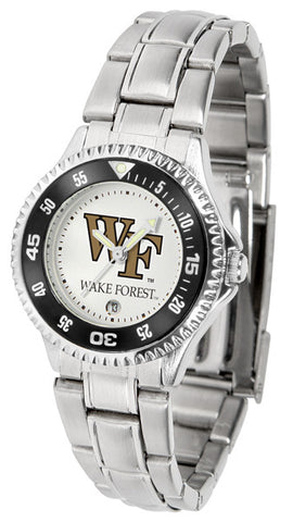 Ladies Wake Forest Demon Deacons - Competitor Steel Watch
