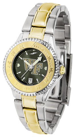 Ladies Wake Forest Demon Deacons - Competitor Two Tone AnoChrome Watch