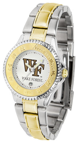 Ladies Wake Forest Demon Deacons - Competitor Two Tone Watch
