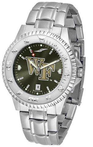 Mens Wake Forest Demon Deacons - Competitor Steel AnoChrome Watch
