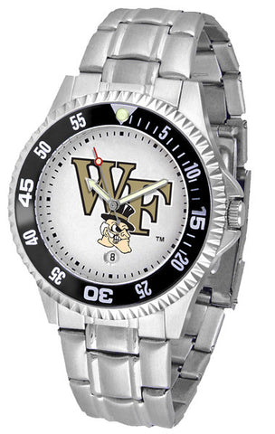 Mens Wake Forest Demon Deacons - Competitor Steel Watch